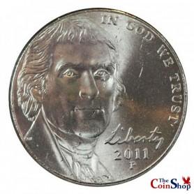 2011-P Jefferson Nickel