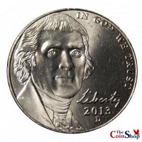 2013-D Jefferson Nickel