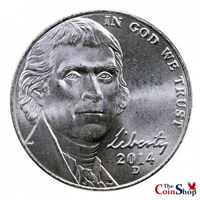 2014-D Jefferson Nickel