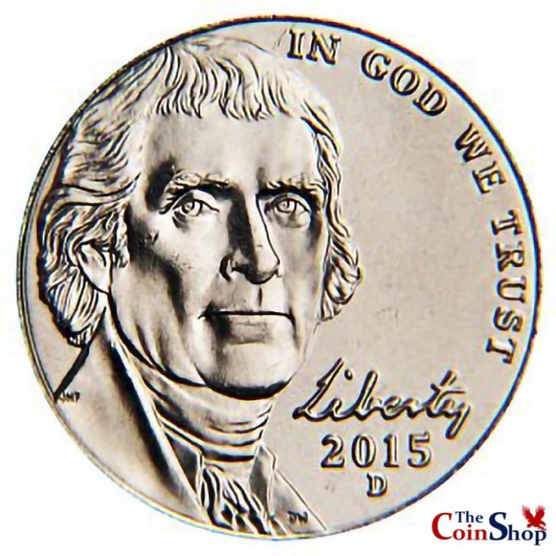 2015-D Jefferson Nickel