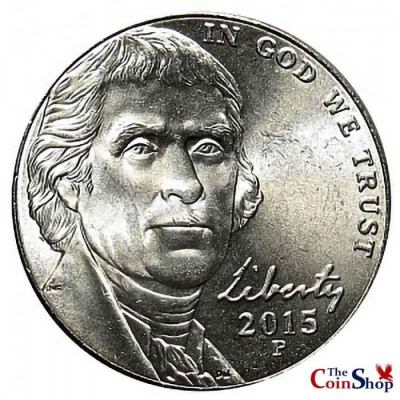 2015-P Jefferson Nickel