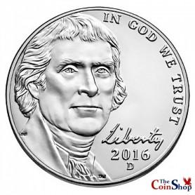 2016-D Jefferson Nickel
