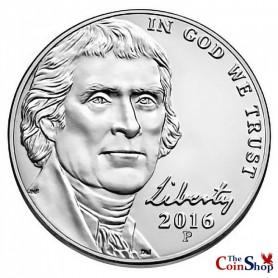 2016-P Jefferson Nickel