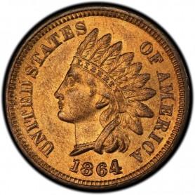 1864 Bronze Indian Head Cent