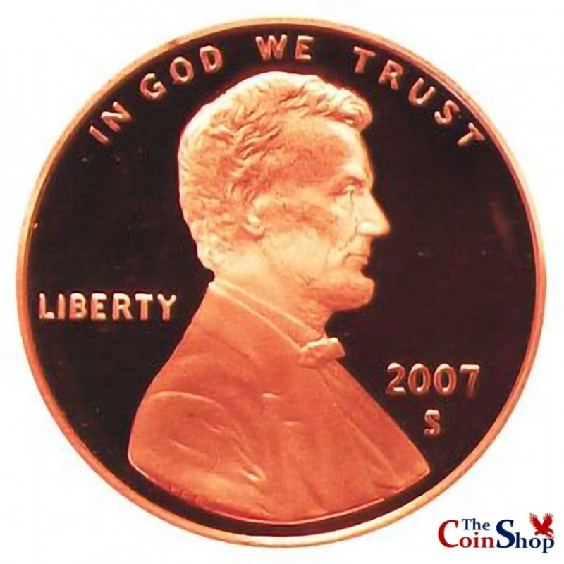 2007-S Lincoln Cent