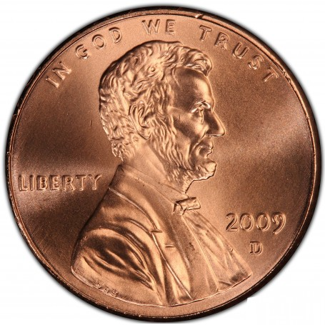 2009-D Formative Years Bicentennial Lincoln Cent