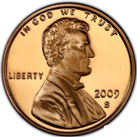 2009-S Formative Years Bicentennial Lincoln Cent