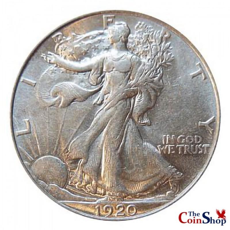 ** 1928-S Walking Liberty Silver Half Dollar FREE SHIPPING!