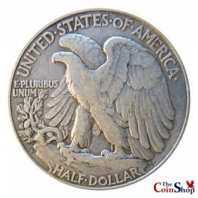 1923-S Walking Liberty Half Dollar