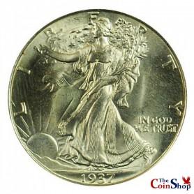 1937-P Walking Liberty Half Dollar