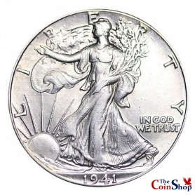 1941-P Walking Liberty Half Dollar