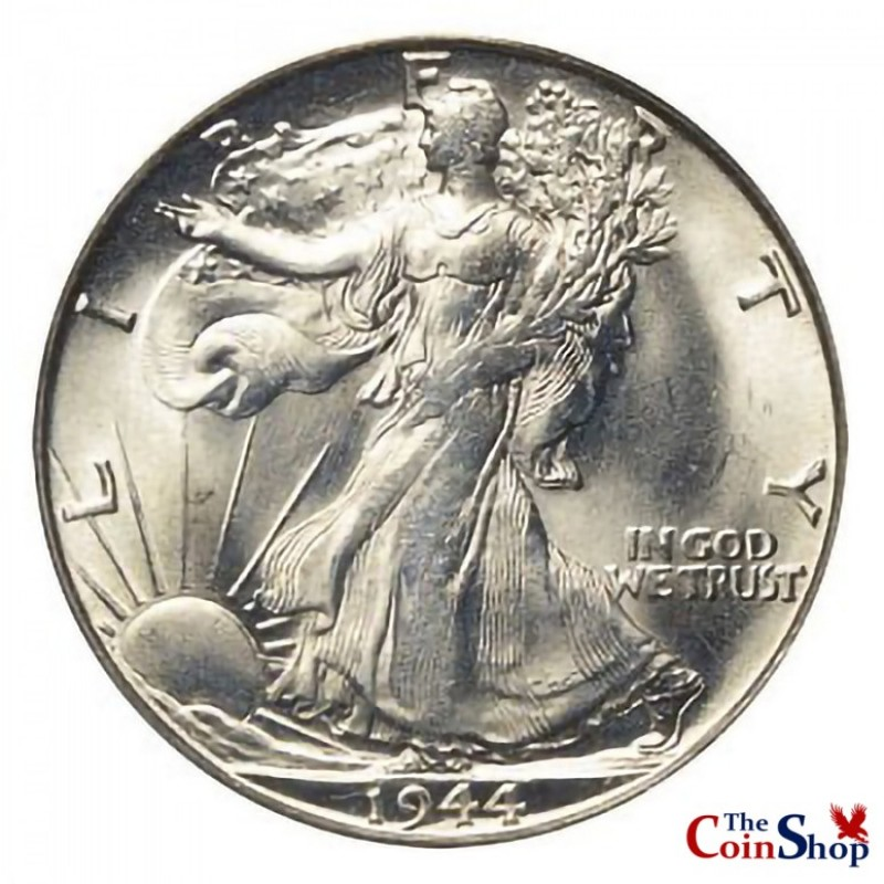 1944-S Walking Liberty Half Dollar