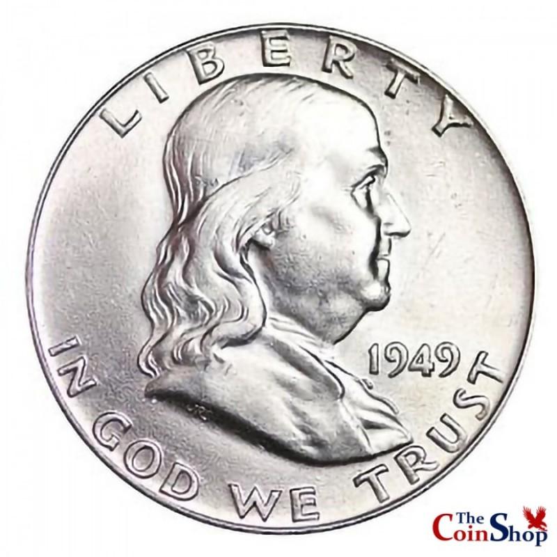 1949-P Franklin Half Dollar