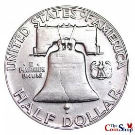 1951-P Franklin Half Dollar