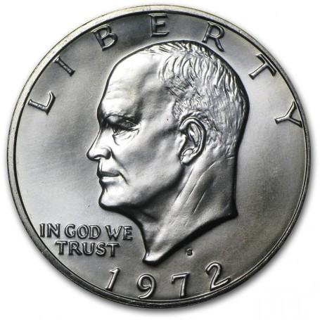 1972 S EISENHOWER  40/% SILVER IKE DOLLAR BLUE PACK
