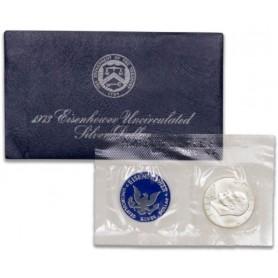 1973-S Eisenhower Dollar Blue Mint Pack