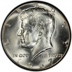 1967-P SMS Kennedy Half Dollar