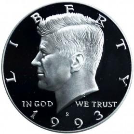 1993-S Silver Kennedy Half Dollar Proof