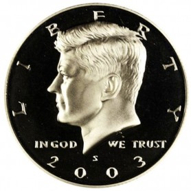 2003-S Silver Kennedy Half Dollar Proof