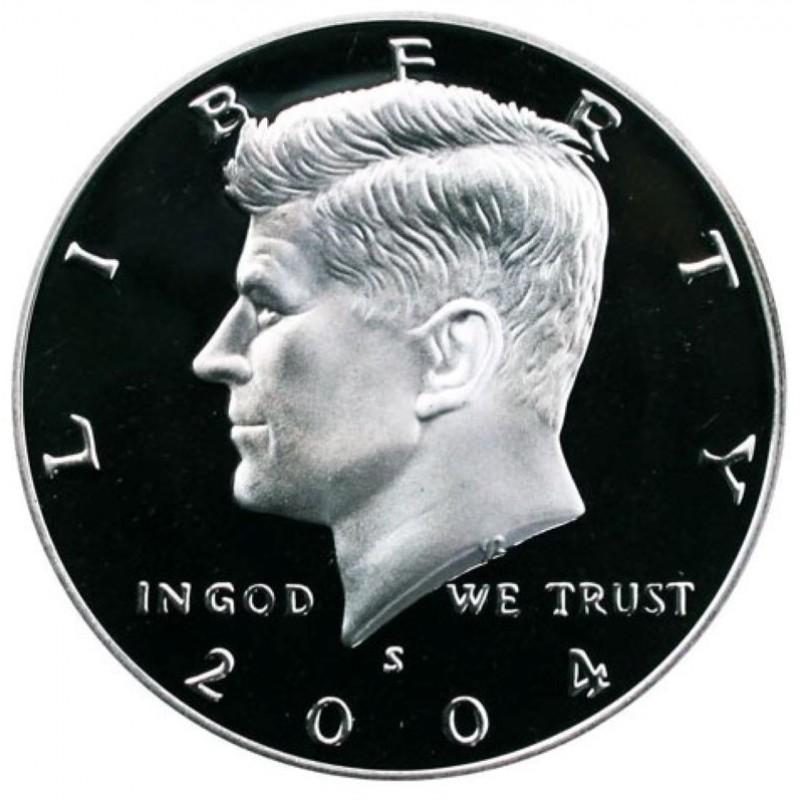 2004-S Silver Kennedy Half Dollar Proof