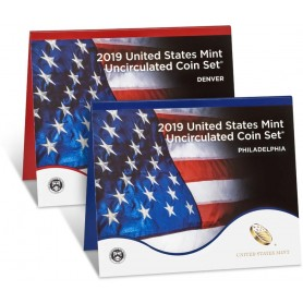2019 U.S. Mint Coin Set With 2019-W Lincoln Shield Cent