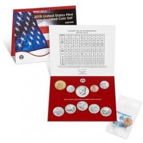 2019 U.S. Mint Uncirculated Set P&D