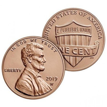 2019-W Lincoln Cent - Special Edition