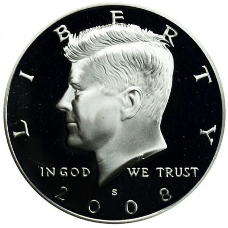 2008-S Silver Kennedy Half Dollar Proof