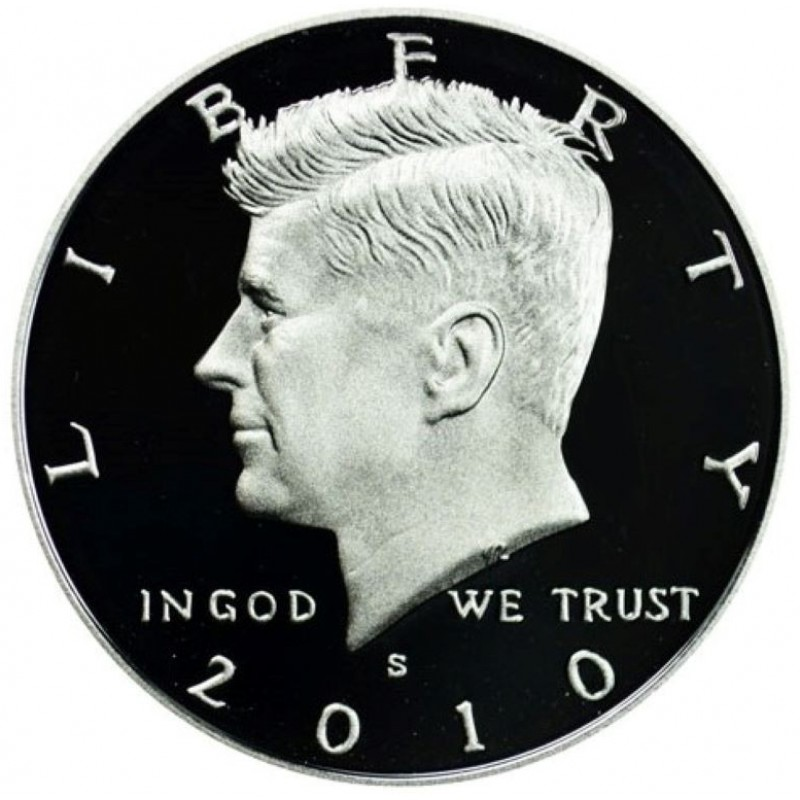 2010-S Silver Kennedy Half Dollar Proof