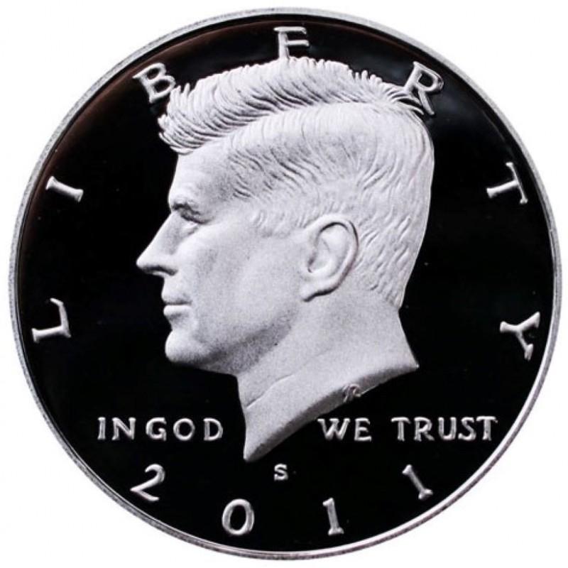 2011-S Silver Kennedy Half Dollar Proof