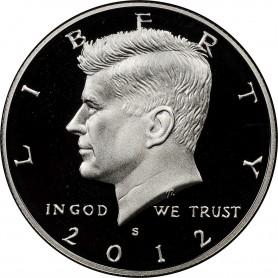 2012-S Silver Kennedy Half Dollar Proof