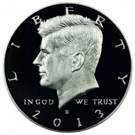 2013-S Silver Kennedy Half Dollar Proof