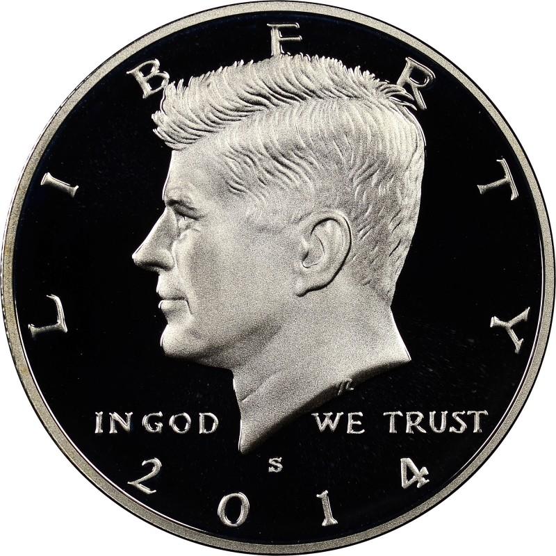 2014-S Silver Kennedy Half Dollar Proof