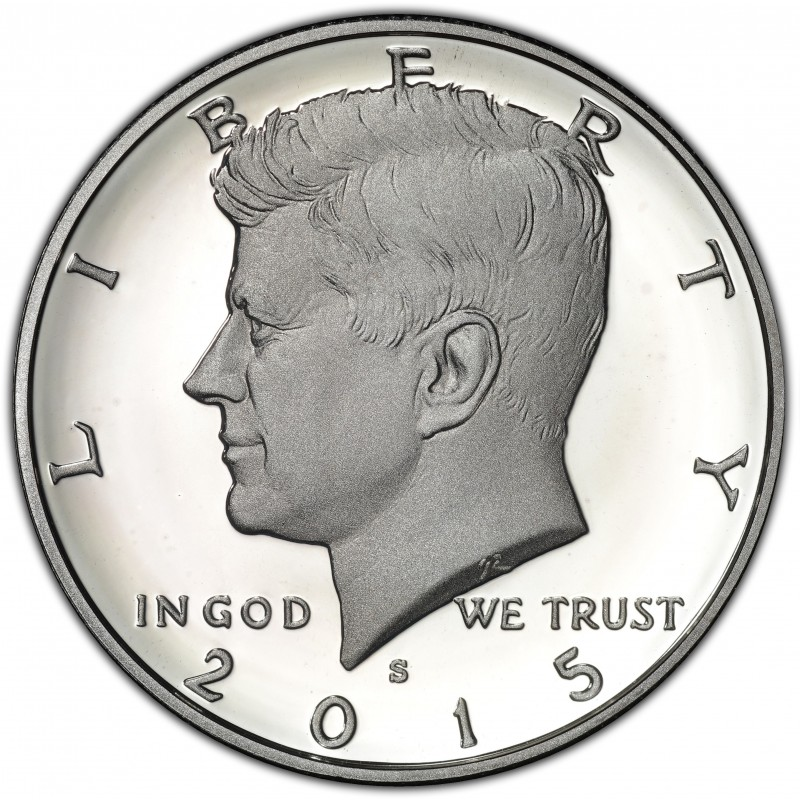 2015-S Silver Kennedy Half Dollar Proof