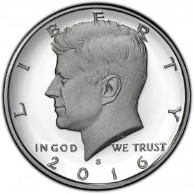 2016-S Silver Kennedy Half Dollar Proof