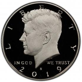 2019-S Silver Kennedy Half Dollar Proof - 99.9% Silver