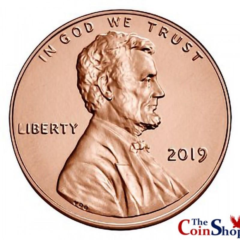 2019-P Lincoln Shield Cent