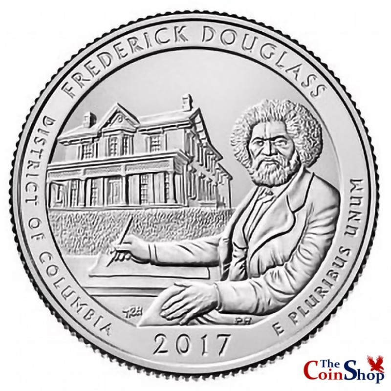 2017-D Fredrick Douglass National Historic Site Quarter