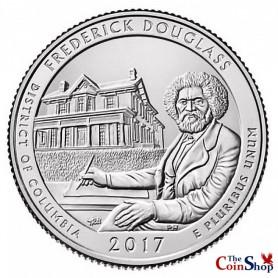 2017-P Fredrick Douglass National Historic Site Quarter