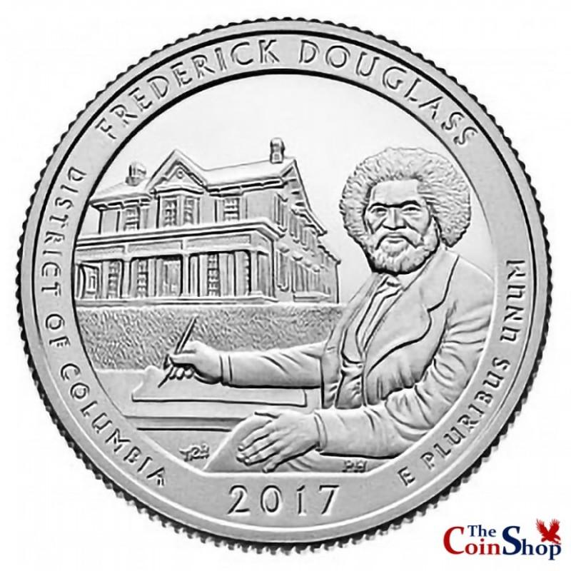 2017-S Fredrick Douglass National Historic Site Proof Quarter