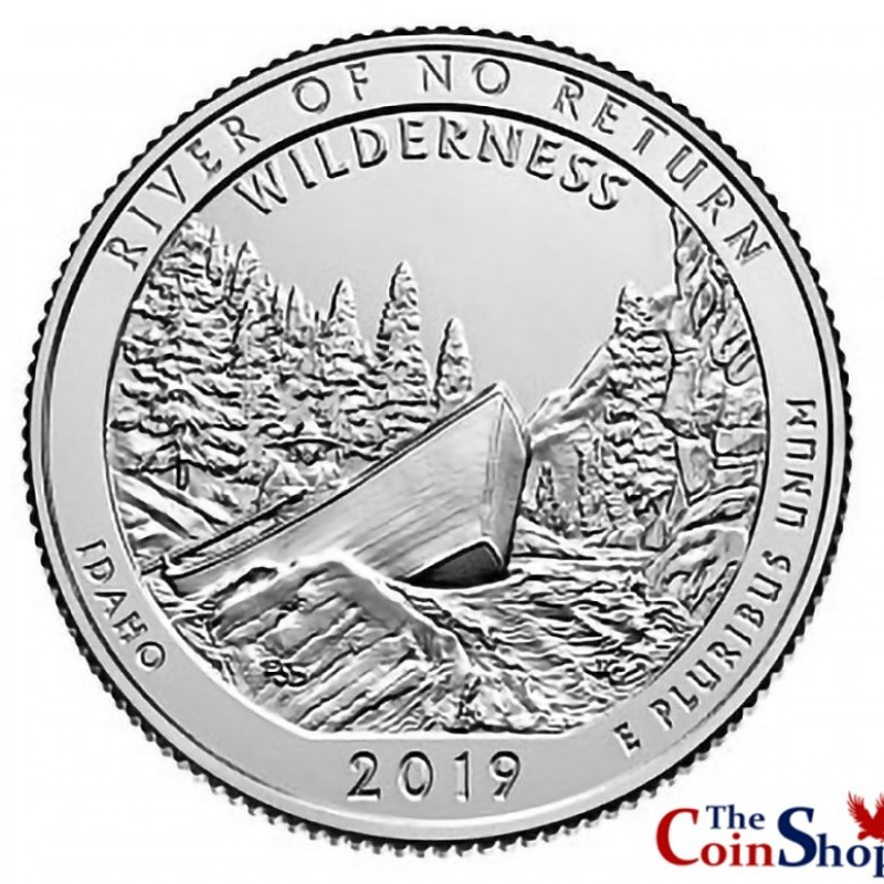 2019 P Frank Church River Of No Return Wilderness Quarter BU Direct From Mint