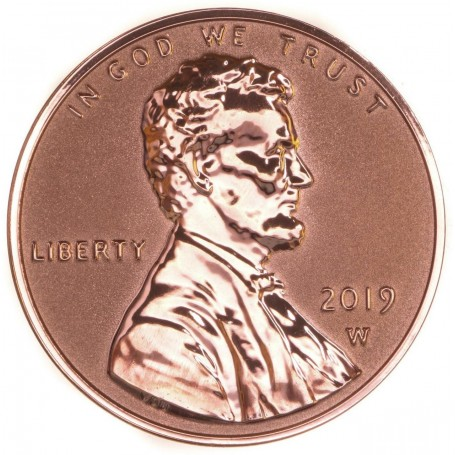 2019-W REVERSE PROOF Lincoln Shield Cent