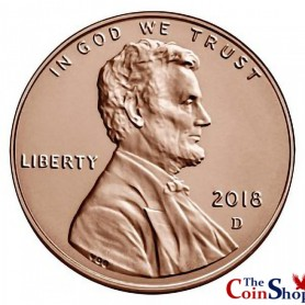 2018-D Lincoln Shield Cent