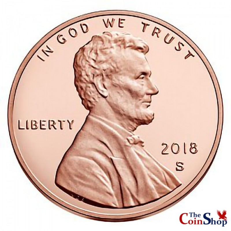 2018-S Proof Lincoln Shield Cent