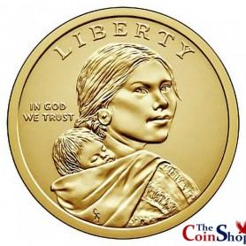 2018-P Wa-Tho-Huk Native American Dollar