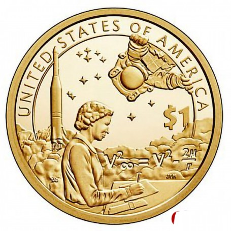 2019-S Proof American Indians in the Space Program Sacagawea Dollar