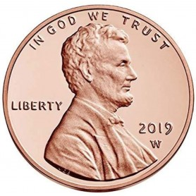 2019-W Proof Lincoln Shield Cent