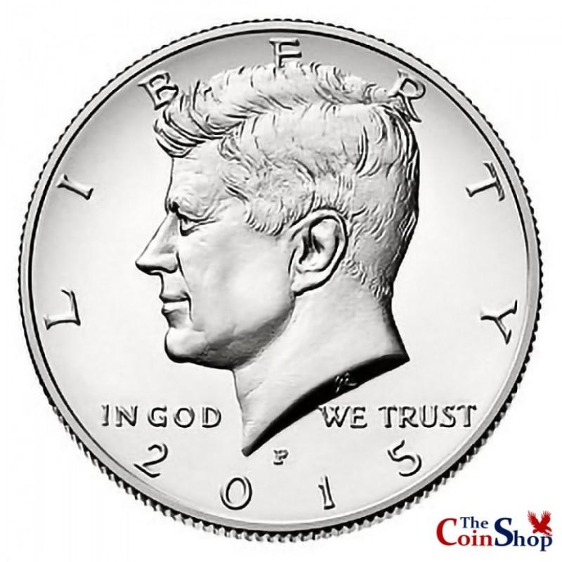 2015-P Kennedy Half Dollar