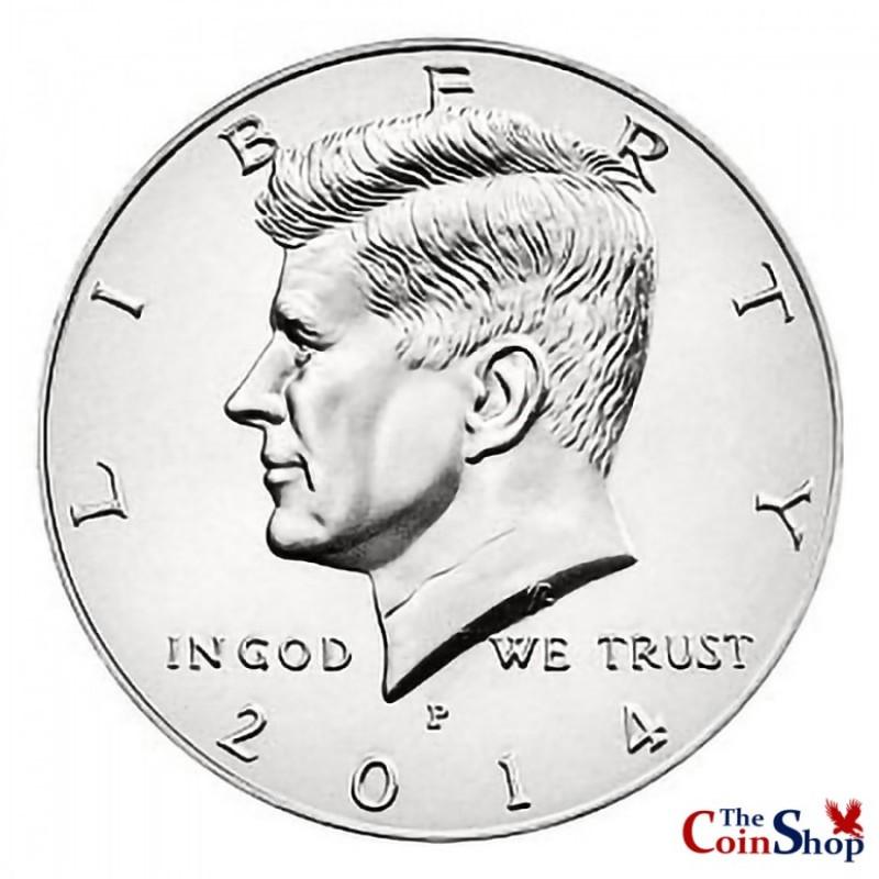 2014-P Kennedy Half Dollar