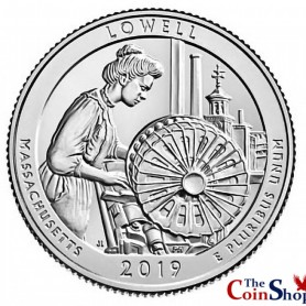 2019-S Uncirculated Lowell National Historical Park Quarter